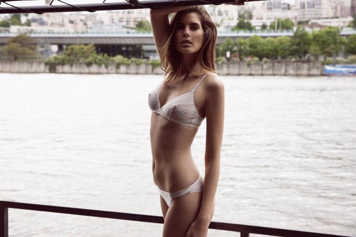 La lingerie imaginée par Pôm Sevestre, créatrice d'Absolutely Pôm, habille les corps de jour comme de nuit.