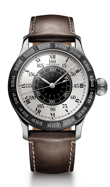 La montre à angle horaire originale, conçue en partenariat avec Charles Lindbergh est conservée au Musée Longines à Saint-Imier. Elle a servi d'inspiration à The Lindbergh Hour Angle Watch 90th Anniversary 2017.