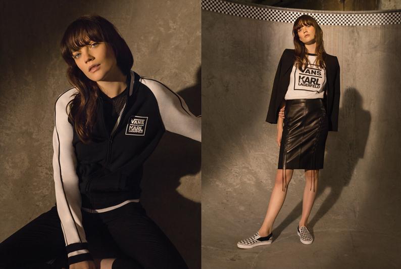 Vans et Karl Lagerfeld : 12 modèles pour descendre dans la rue