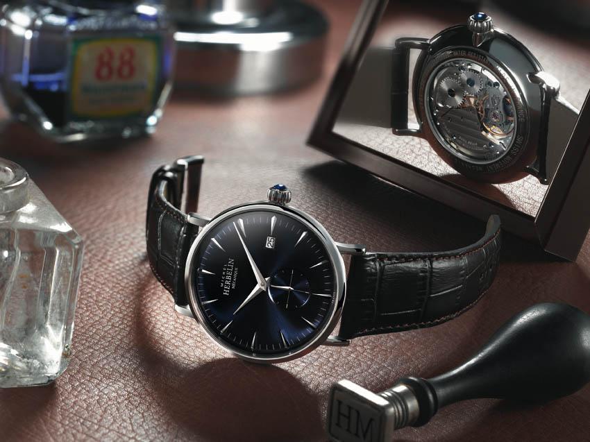 L'horloger Michel Herbelin présente « Inspiration 1947 acier »