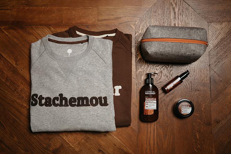 Faguo & L'Oréal pour la Movember Foundation.