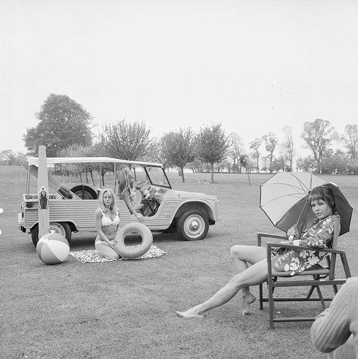 Le 11 mai 1968, lancement de Méhari au golf de Deauville.