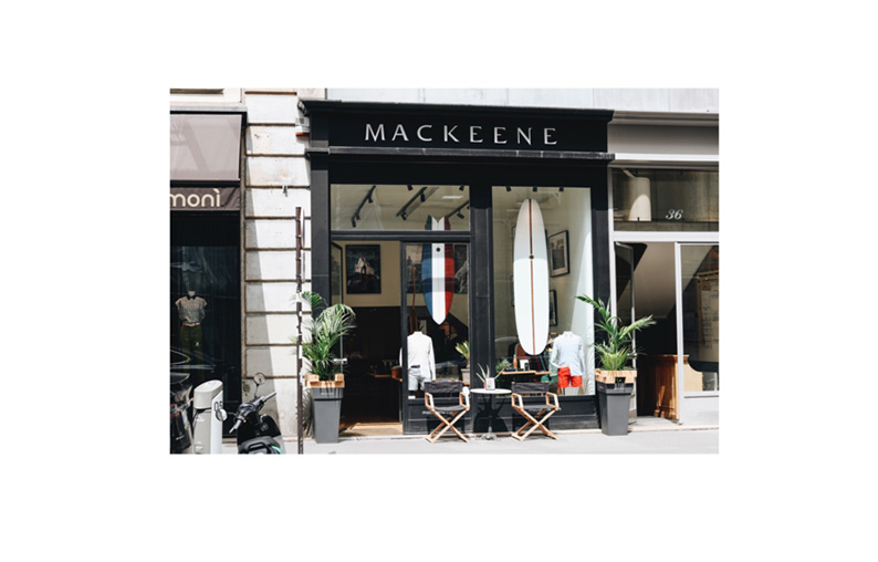 Pop-up store Mackeene, Saint-Barth' à Paris