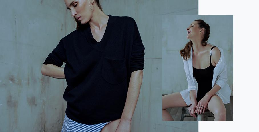 Marie Marot X Eric Bompard, la maille parfaite, la chemise idéale