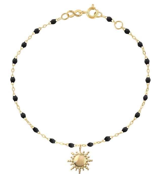 Bracelet Soleil en or rose et résine 335 €