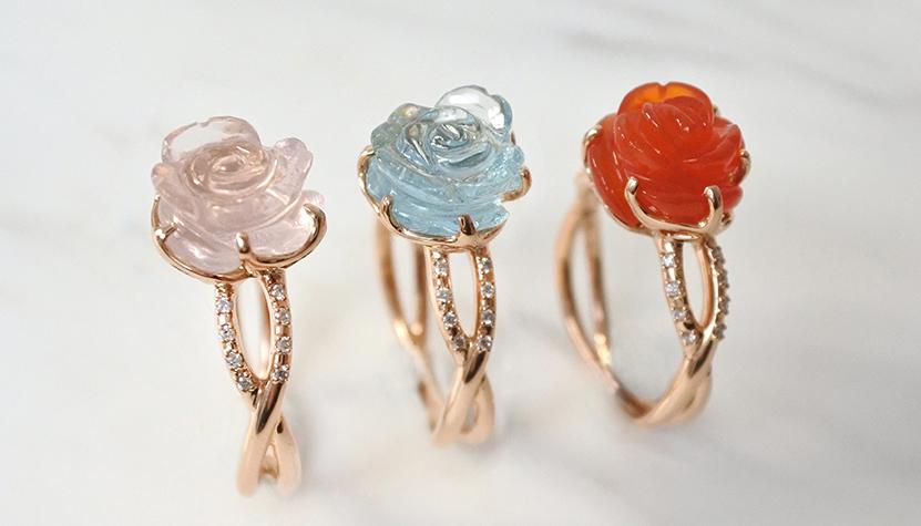 Guérin Joaillerie – Gros coup de cœur pour jolies fleurs