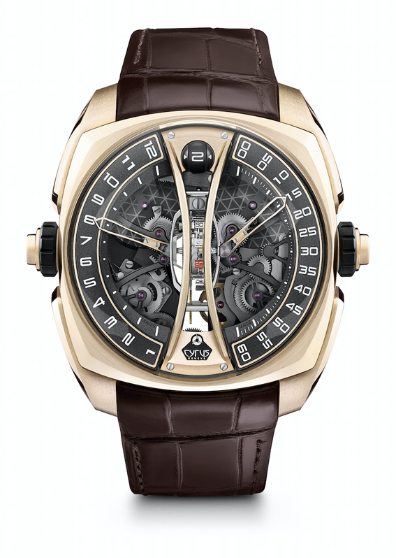 Cyrus – Klepcys Vertical Skeleton Tourbillon