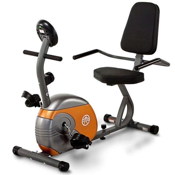 Marcy Recumbent Exercise Bike with Resistance ME-709 ShoppingExclusives.com