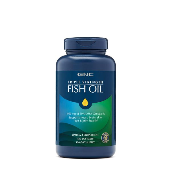 GNC TRIPLE STRENGTH FISH OIL Shopping Exclusives