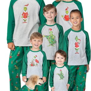 Holiday Grinch Pajamas Shopping Exclusives