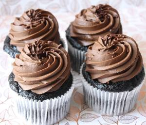 Chocolate cupcakes I would not share with anybody