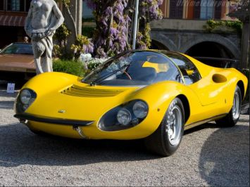 1967 Ferrari Dino, too rare and valuable to drive anywhere except inside of a down pillow.