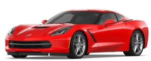 Chevrolet Corvette Stingray 2018 in Torch Red color option