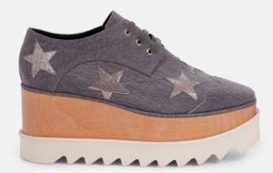 Denim Stars Elyse Shoes by Stella McCartney
