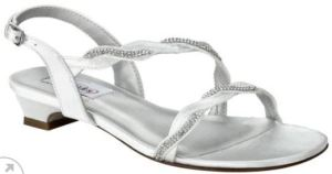 Jasper Dyeable Sandal From the DyeableShoeStore is a Trendy Yet Practical Design.