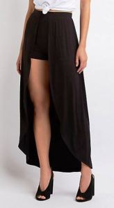 A similar look that is very 50's for all you rockabilly hepcats. Layered Maxi Shorts at CharlotteRusse.com.