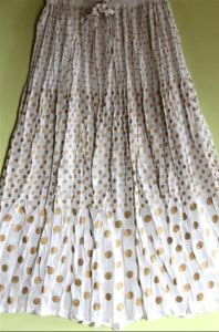 This web shop does not have the best photos. But Shopping Girls know the benefits of embracing the smaller e-boutiques out there. Score from an array of cute Summery skirts in different patterns than one usually sees. AfricanApparels.com.