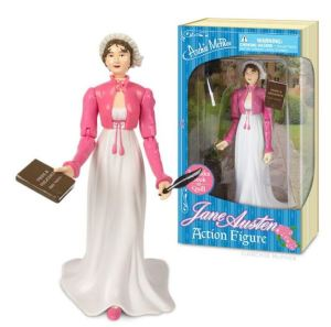 You could give your kid a Barbie, or you could give her a Jane Austen Action Figure from Archie McPhee. Hey, I've got nothing against Barbie; give her one of each. But for kids with a literary bend who like figurines and dolls, Jane Austen is a great study buddy on the desktop. Other literary figures are also available. Mcphee.com.