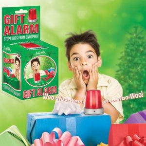 Speaking of people raiding your snacks, snooping through your gear, or attempting to plagiarize your papers, check out this handy motion detector Gift Alarm. Not for gifts only! The small alarm, when set, will alert you with a loud siren and flashing light should anyone come too near to something of yours they shouldn't. While it would be tempting to use this on top of your car when you're running late for class, avoid such temptation, or you'll be late by at least the time it takes to make bail. Mcphee.com.