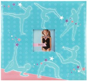 Keep your young ShoppingGirl's school-year sports memories in archival condition for life-long memories and self-esteem. PFile.com carries adorable, archival quality Sports Scrapbooks in a practical 12-inch square size, with a place on the cover for a photograph of your ShoppingGirl star athlete. Each comes with a set of 10 archival-quality sheets (for a total of 20 display surfaces). The album can be separated to add additional sheet sets, or the optional 4x6-inch photo sheets. Choose from a nice variety of sports album graphic