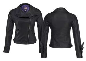 If your costume has to look real, make it real with this Bat Girl Jacket. Awesome details include adjustable waist buckles for Bat Girl cycling comfort, gusseted zippered sleeves to conceal forearm weaponry, and wrist flames confirming your Superheroness. In Vegan Leather. See all of the details at thinkgeek.com.