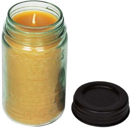 For country Christmas decor or similar themes, a Mason-jar candle might be just the thing. Finding one made with pure beeswax is a Christmas gift in itself. Pure Beeswax Candle in a Mason Jar burns a whopping 85 hours, so you'll get your money's worth. Beeswaxco.com