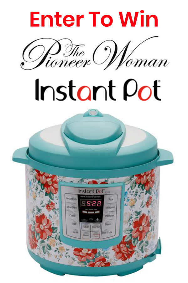Win A Pioneer Woman Instant Pot! #giveaway #contest #sweepstakes #pioneerwoman #instantpot #win