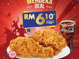 Texas Chicken Merdeka 2018