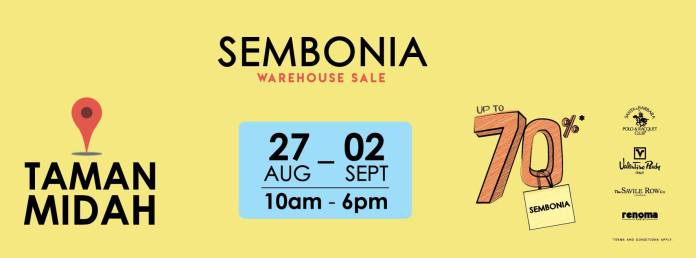 Sembonia Warehouse Sales