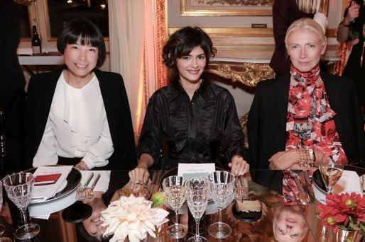 Angelica Cheung, Audrey Tautou, Christiane Arp