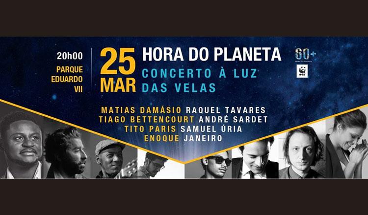 Concerto solidário Hora do Planeta – sábado, 25 de março