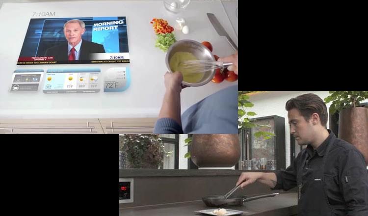 A cozinha do futuro, um espaço multifuncional, super conectado e focado na saúde