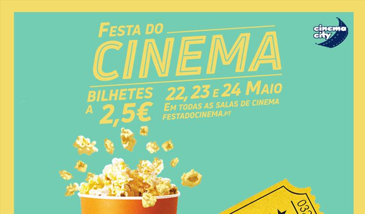 Na próxima semana, ir ao cinema custa 2,5 euros