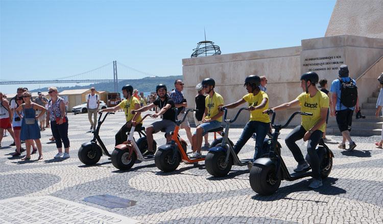 """Boost Portugal acrescenta frota de Scrooser para mais """"emoções urbanas"""""""