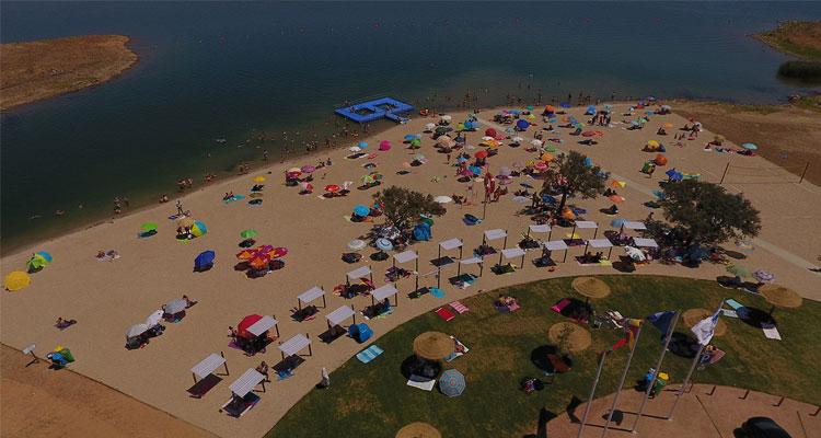 Praia fluvial de Monsaraz vai ser ampliada