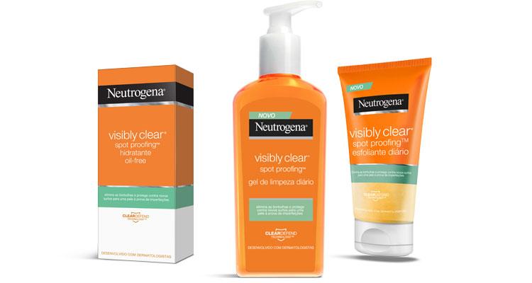 Neutrogena apresenta nova linha Visibly Clear Spot Proofing