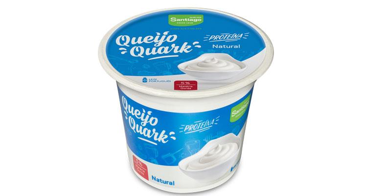 Queijos Santiago lança queijo Quark para comer sem peso na consciência