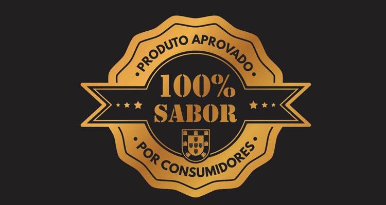 100% SABOR - Primeiro selo nacional a distinguir os melhores Sabores em Portugal