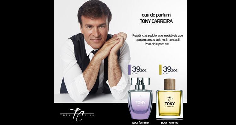 Tony Carreira lança marca de perfumes