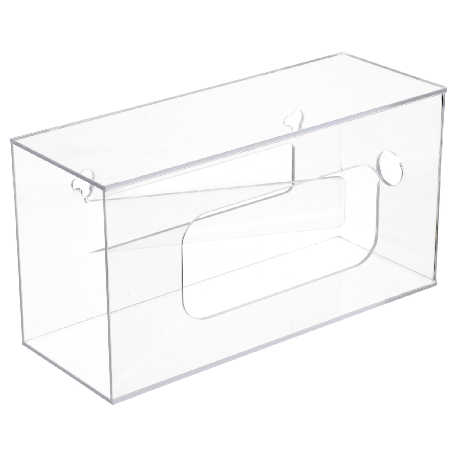 Acrylic Single Box Glove Dispenser