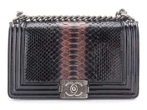 Preowned Chanel Boy Bag