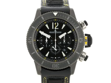 Jaeger LeCoultre Diving Chronograph GMT Navy Seals Watch