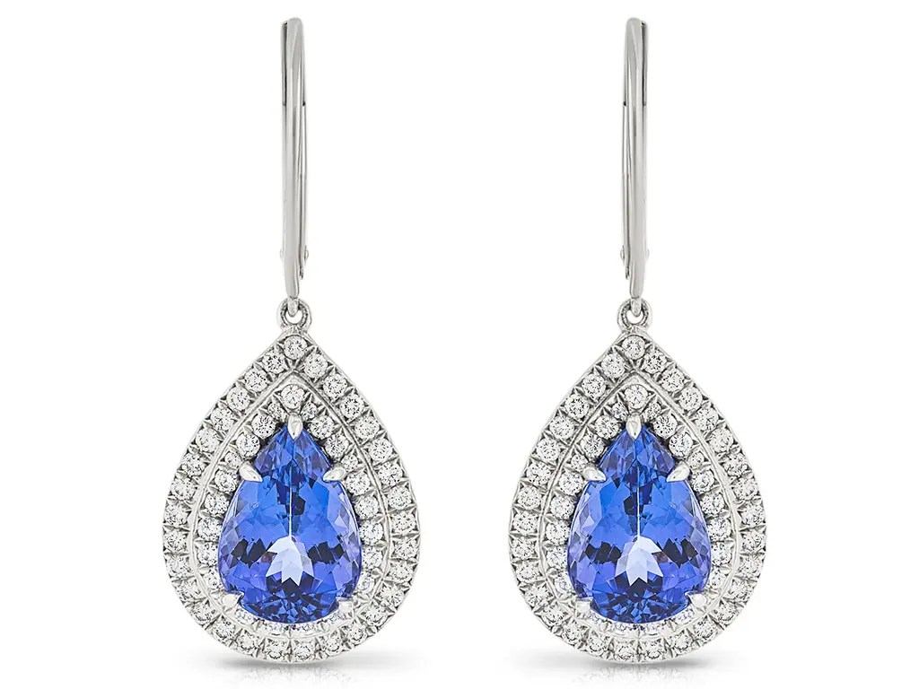 Tiffany & Co Soleste Tanzanite Earrings