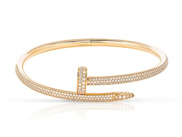 Cartier Juste Un Clou Diamond Bangle