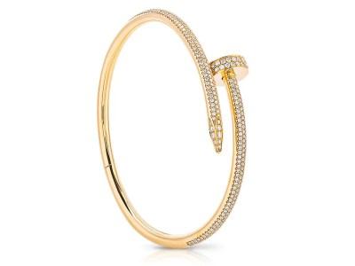 Cartier Juste Un Clou Diamond Bangle