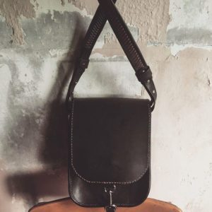 structured leather crossbody bag