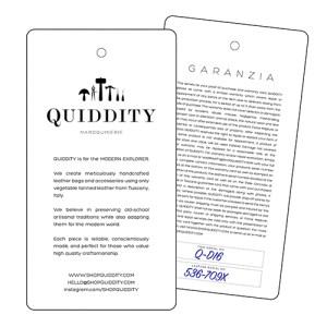 quiddity warranty