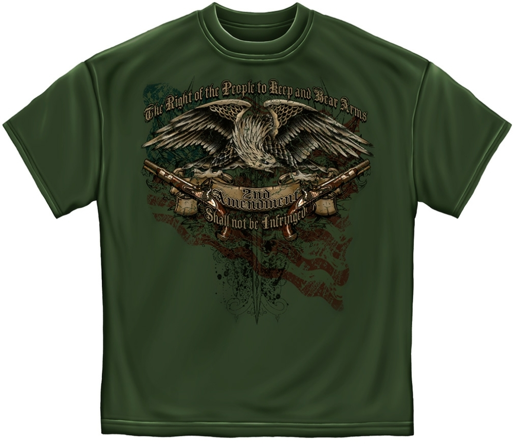 2nd Amendment Tattoo Design T-shirt
