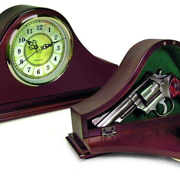 Mantel Concealment Gun Clock