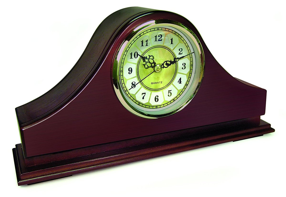 Mantel Concealment Gun Clock